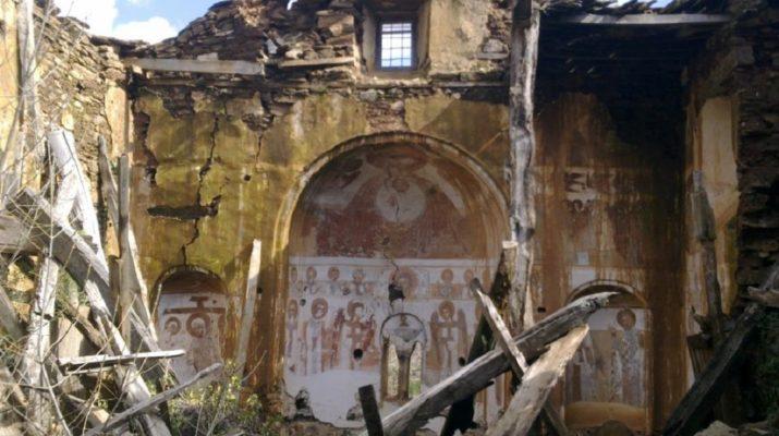 Το «ξεχασμένο» μοναστήρι στον Κίσσαβο περιμένει μια βοήθεια πριν… χαθεί (ΦΩΤΟ)