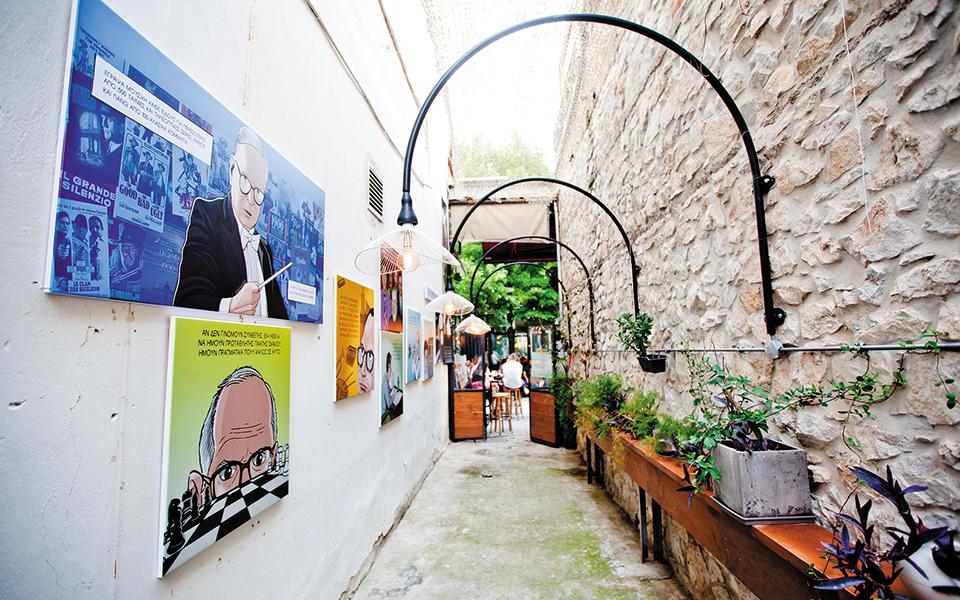 Η ζωή του Ενιο Μορικόνε έγινε κόμικς στη Λάρισα