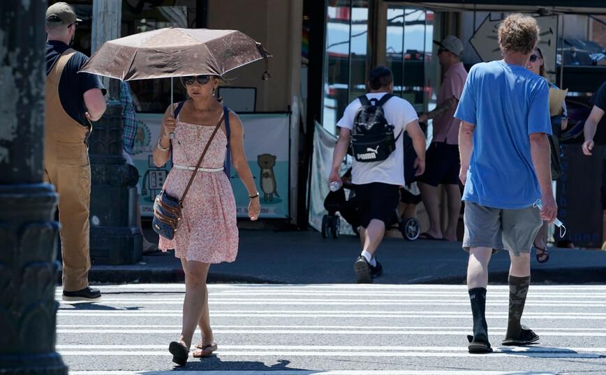 Λιώνει από τη ζέστη ο Καναδάς: Το θερμόμετρο έφτασε τους 50 βαθμούς – Δεκάδες νεκροί