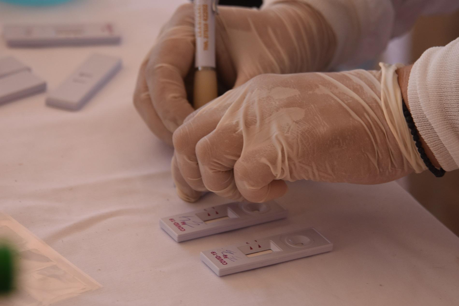 Πού θα γίνουν δωρεάν rapid tests σήμερα Πέμπτη στη Λάρισα