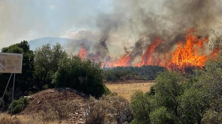 Πολύ υψηλός ο κίνδυνος πυρκαγιάς αύριο στη Λάρισα