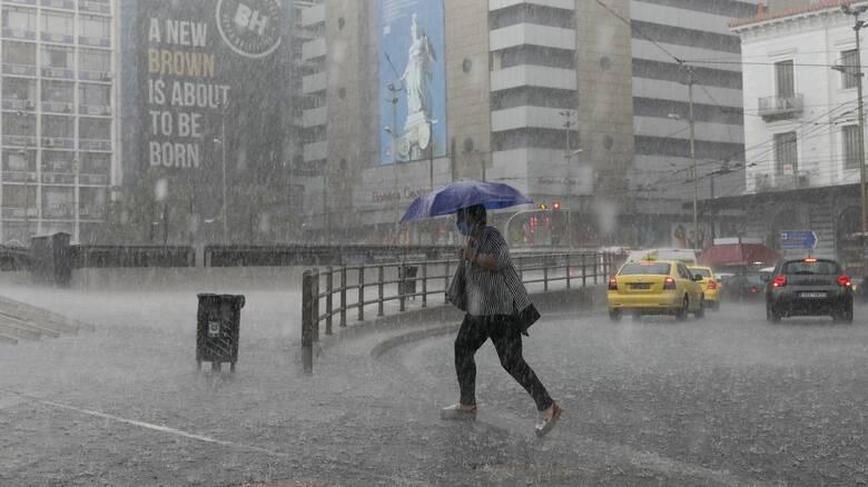 Επαληθεύτηκε ο Φ. Τακούδης: Ο Μπάλλος χτύπησε Αθήνα αντί Θεσσαλίας -χιονίζει στα ορεινά των Τρικάλων