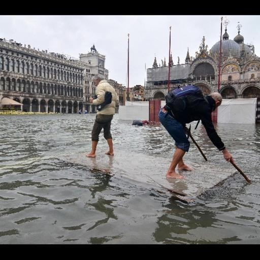 San Marco ancora sott'acqua