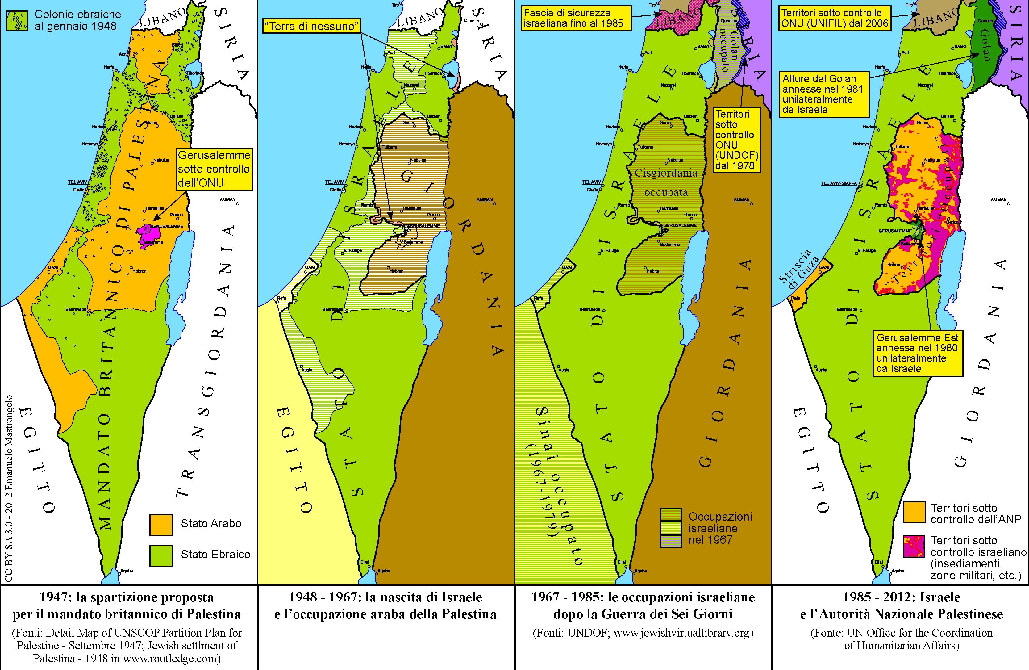 Israele Palestina Cartina.Intervista All Unione Democratica Arabo Palestinese La Riscossa