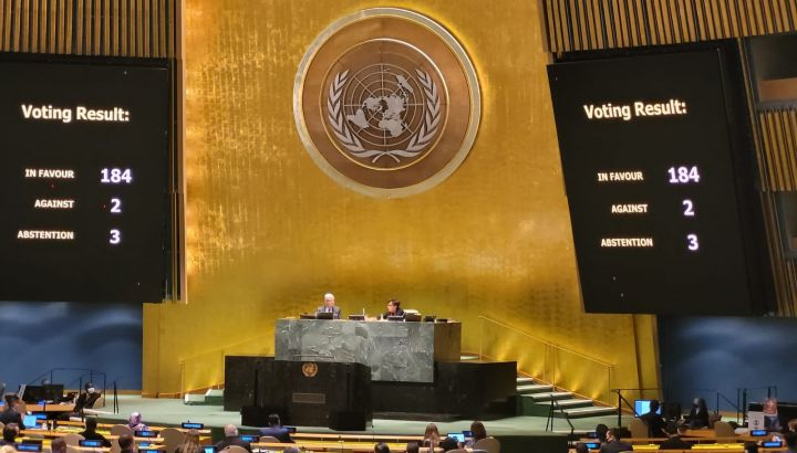 All'ONU condannato l'illegale e criminale Bloqueo a stelle e strisce contro Cuba socialista