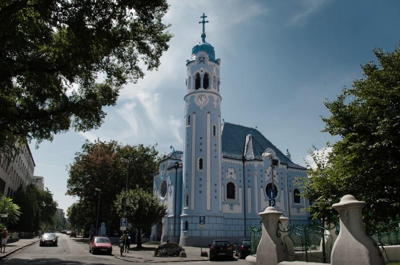 Голубой костел — самый необычный костел Братиславы
