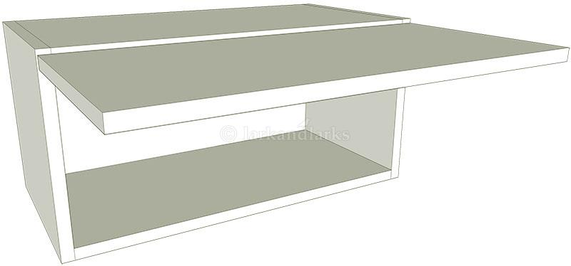 Kitchen Top Box Wall Unit  Flat Pack  Lark  Larks