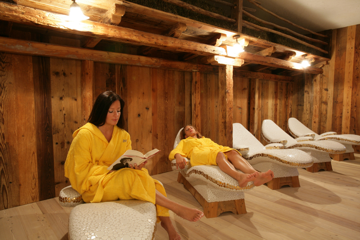 Spa at the Hotel Garn La Roccia in Andalo