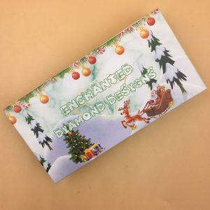 Christmas Eyelash Packaging Box With Your Logo