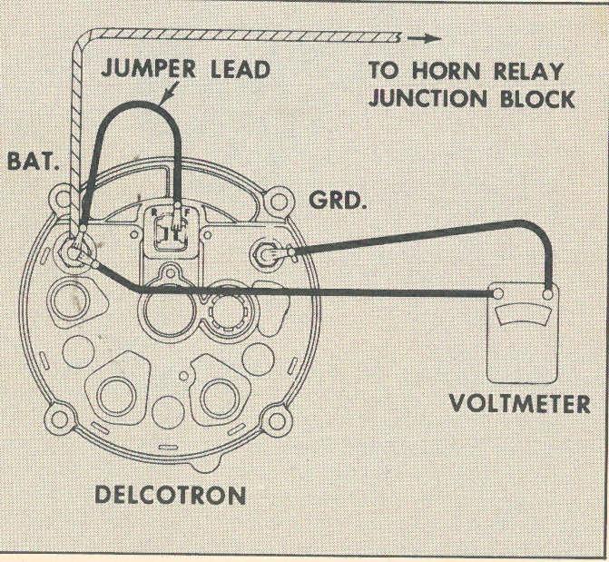 12 volt one wire alternator wiring diagram 3406e ecm simple gm great installation of delcotron online rh 13 1 tokyo running sushi de ford two