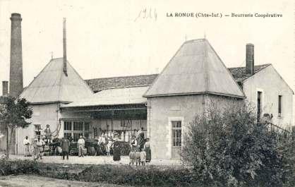 La-Ronde-beurrerie-cooperative-carte-postale-1914