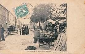 La-Ronde-coin-marche-carte-postale-1907