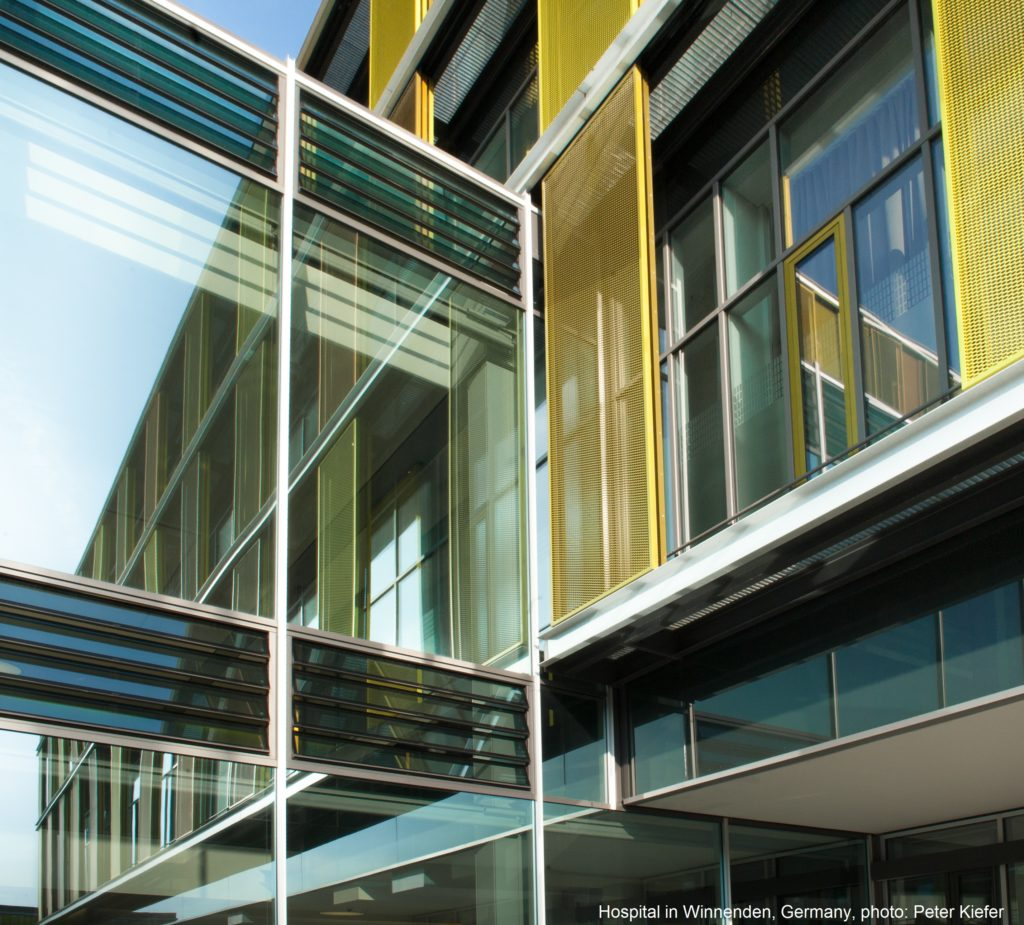 Winnenden Hospital, Germany with HAHN louvres