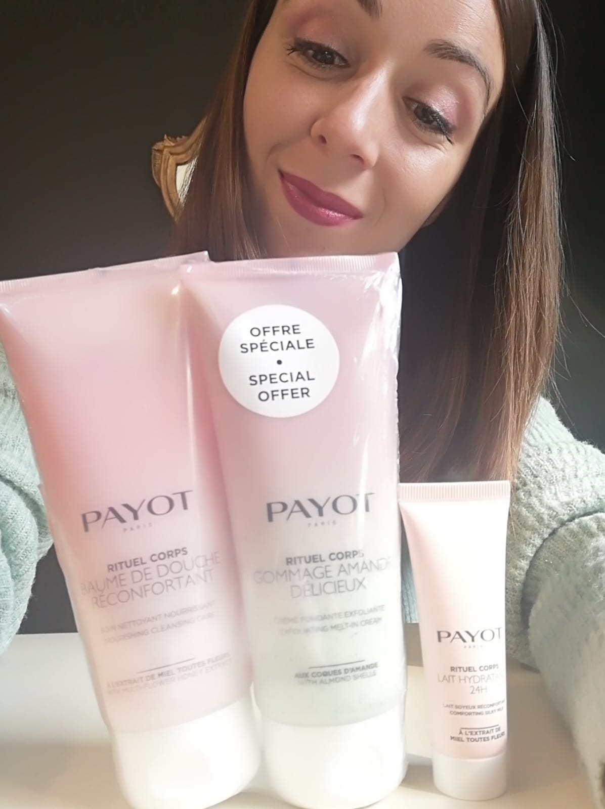 soin corps PAYOT creme