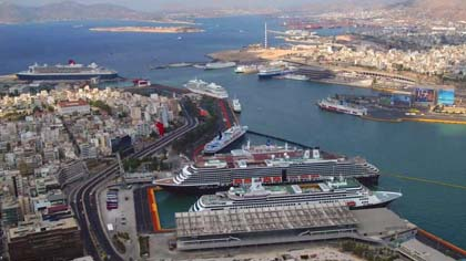 youtube.com  The Greek port of Piraeus, a key commericial hub for the Maritime Silk Road.