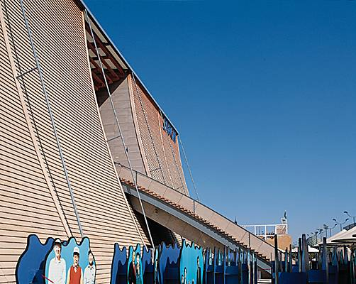 Encyclopdie Larousse en ligne  Ando Tadao pavillon du Japon Sville