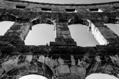 Amphithéâtre romain de Pula (1) 1er siècle après J.C