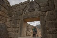 Porte des Lionnes - Mykinès