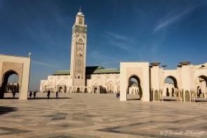 Esplanade de la mosquée Hassan II