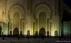 Portes de la mosquée Hassan II