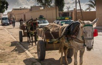 Charettes de travaux publics