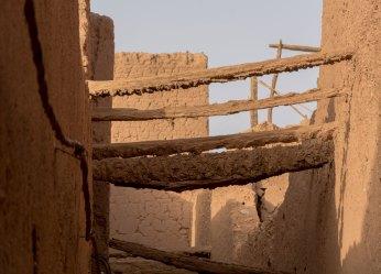 Kasbah en pisé- tamegroute
