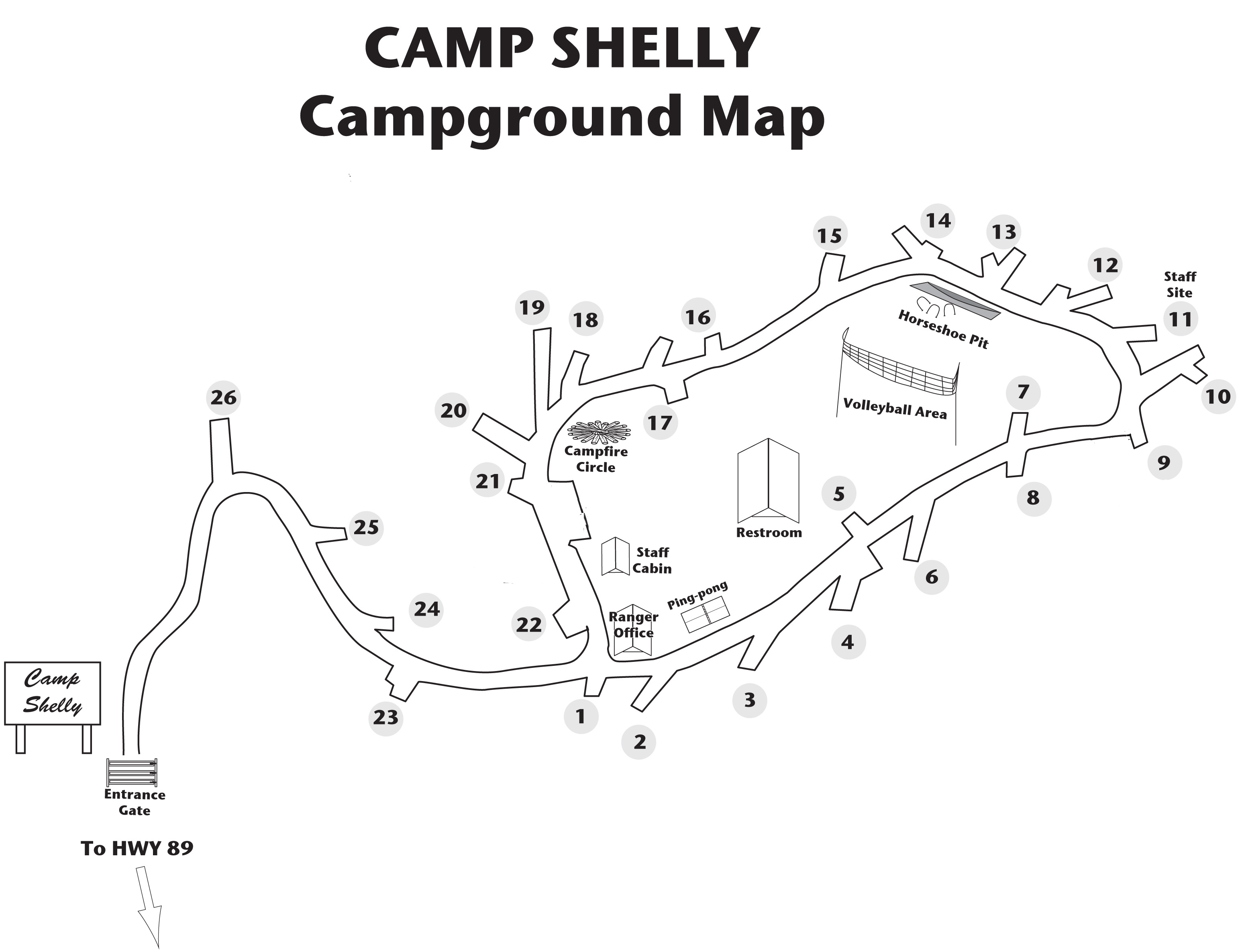 Camp Shelly At South Lake Tahoe Reservation And Campsite