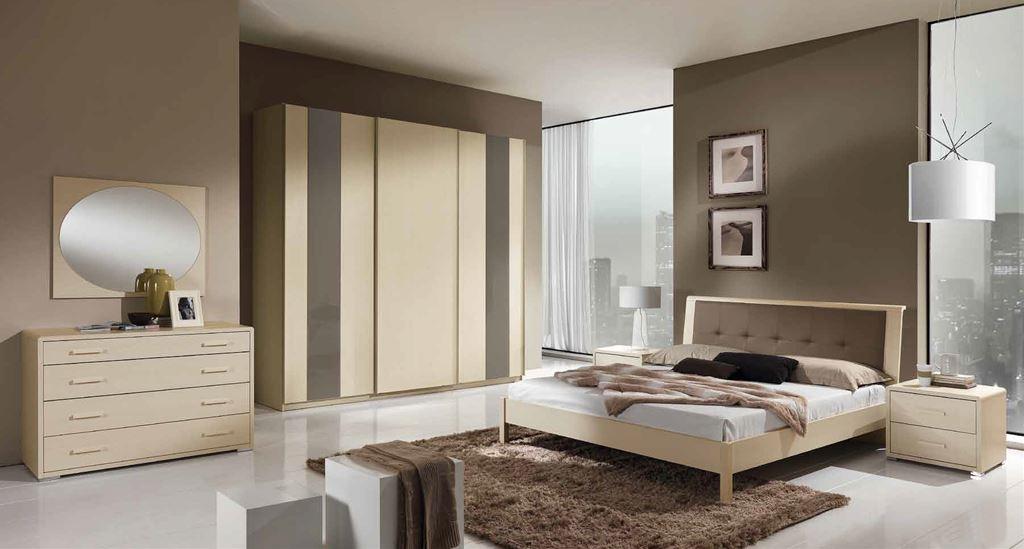 La camera da letto è il luogo del riposo ma non solo: Camera Da Letto Matrimoniale Moderna Modello Piombino Larredo Trieste