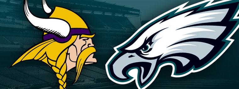 Image result for eagles vs.vikings
