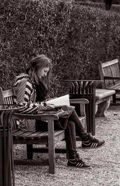POTD: Girl Reading a Book #20
