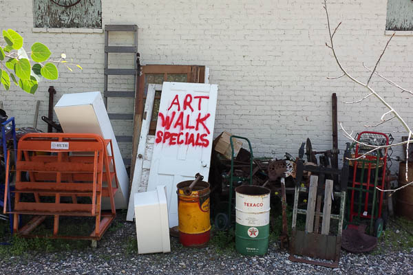 POTD: Art Walk Specials