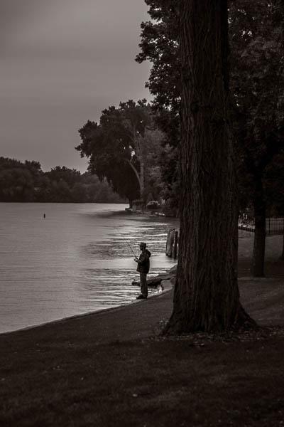 POTD: Fishing in the Rain