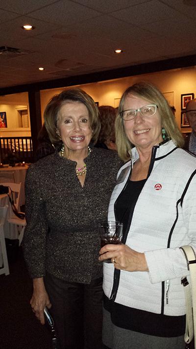 Connie and Nancy Pelosi