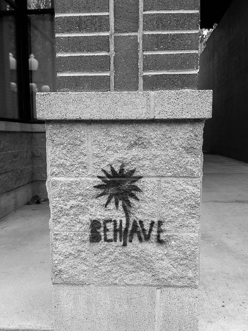POTD: Behave?