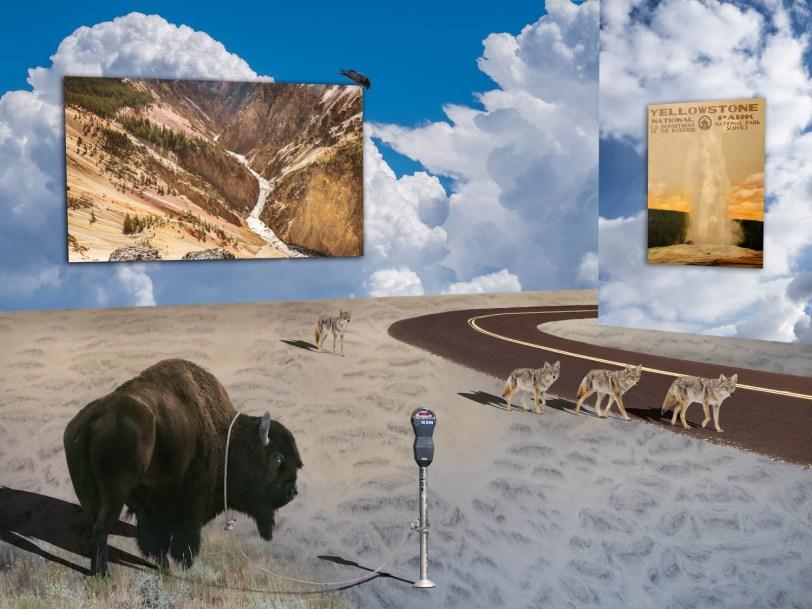 Dali in Yellowstone #2 (Yellowstone Dystopia)