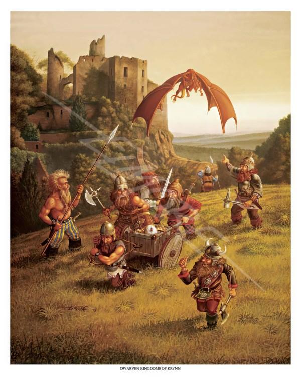 Dwarven Kingdom of Krynn Elmore Larry