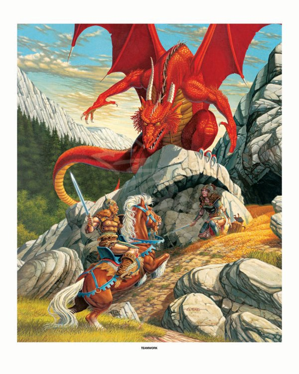 Larry Elmore Dungeons and Dragons Art