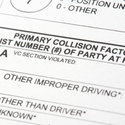 Have You Been in a Car Accident in Which No Police Report