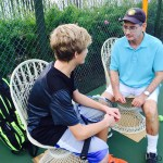 Larry Loeb Teaching Tennis