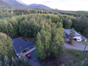 Our home & shop from above.
