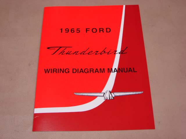 Wiring Diagram Of 1965 Ford Thunderbird 59710 Circuit And Wiring