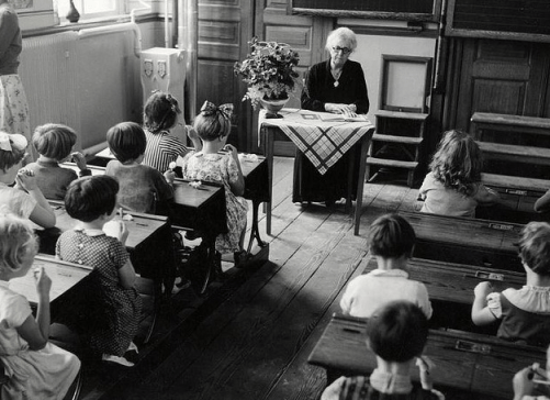 Most classrooms have come a long way since this picture was taken (Flickr Creative Commons License)