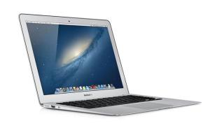 A 2013 13-inch Apple MacBook Air. Coffee damage not included. (Apple photo)