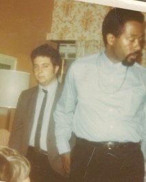 Eldridge Cleaver and Larry Magid, November, 1968