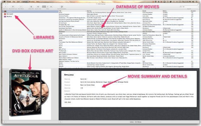 dvdhunter DVD Hunter for Mac OS X Audio Home Theater OS X Product Reviews