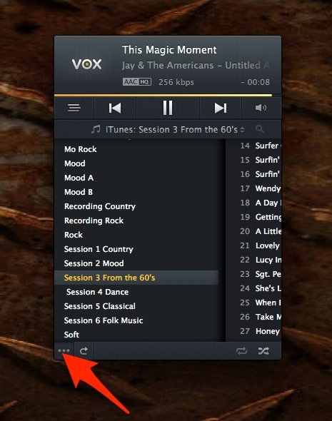 Vox Music Player