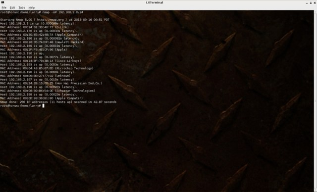Nmap Six Free Linux Network Monitoring Tools For Your Home Network How To Linux Tips