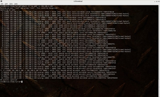 Tshark1 Six Free Linux Network Monitoring Tools For Your Home Network How To Linux Tips