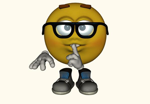 Thinking Emoticon - larrytalkstech.com
