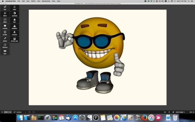 Pixlr_Smiley_3-1024x640 Pixlr Image Editor Review Digital Photgraphy & Artwork iPad OS X Product Reviews